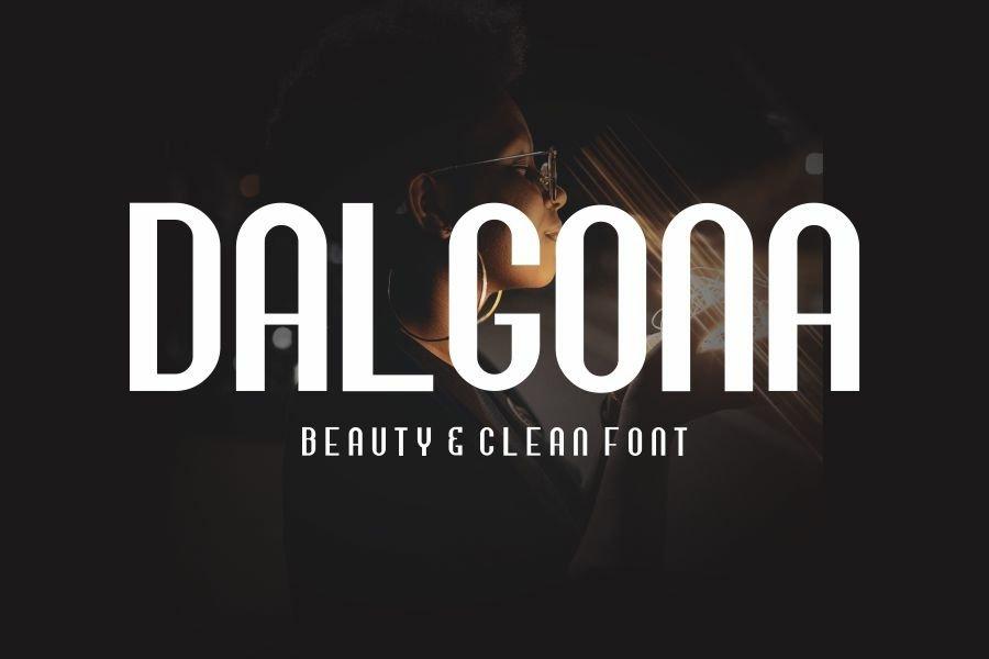 Dalgona-Font