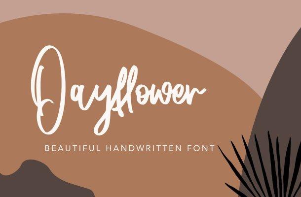 Dayflower Font