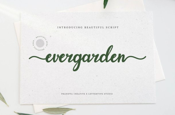Evergarden Font