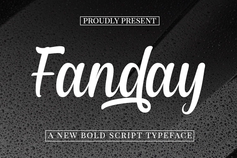 Fanday-Font