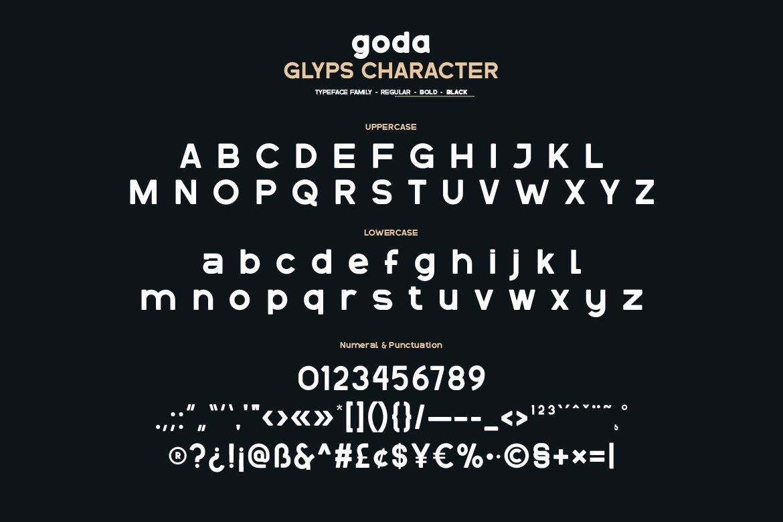 Goda-Font-3