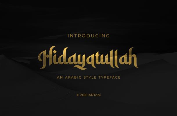 Hidayatullah-Font