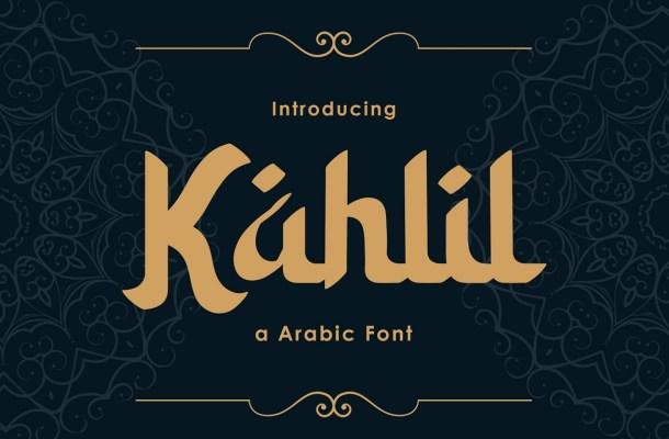 Kahlil-Font