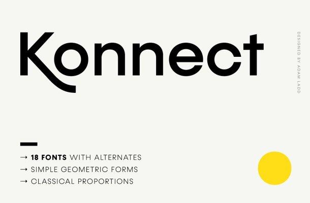 Konnect-Font