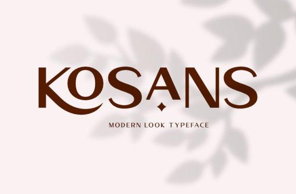 Kosans-Font