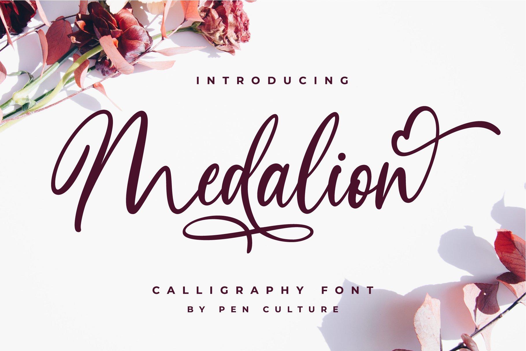 Medalion-Font
