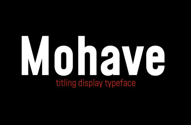 Mohave-Font-Family-4