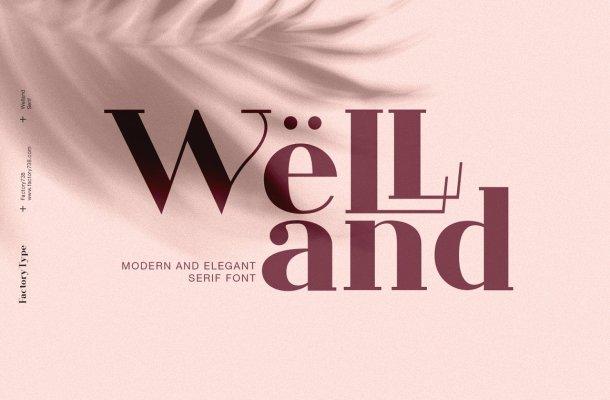 Welland Font