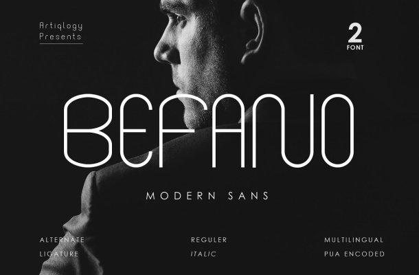 BEFANO-Font