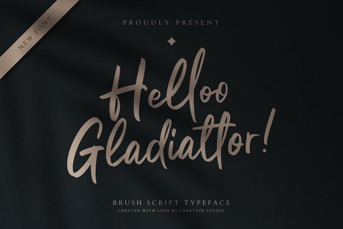 Helloo-Gladiattor-Font