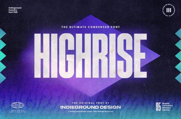 Highrise-Font
