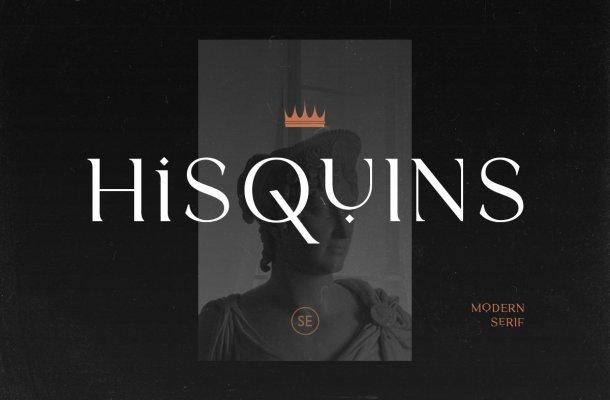 Hisquins Font