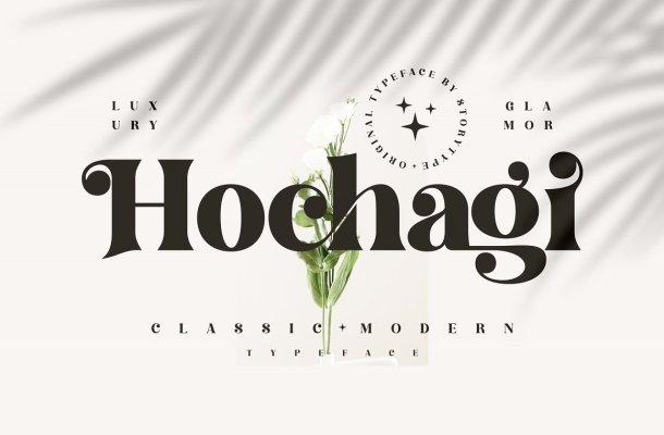 Hochagi-Font