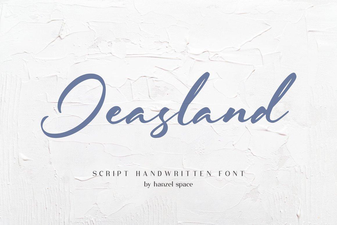 Jeasland-Font