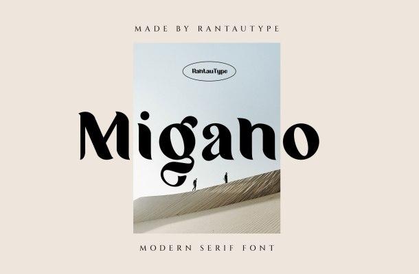 Migano-Font