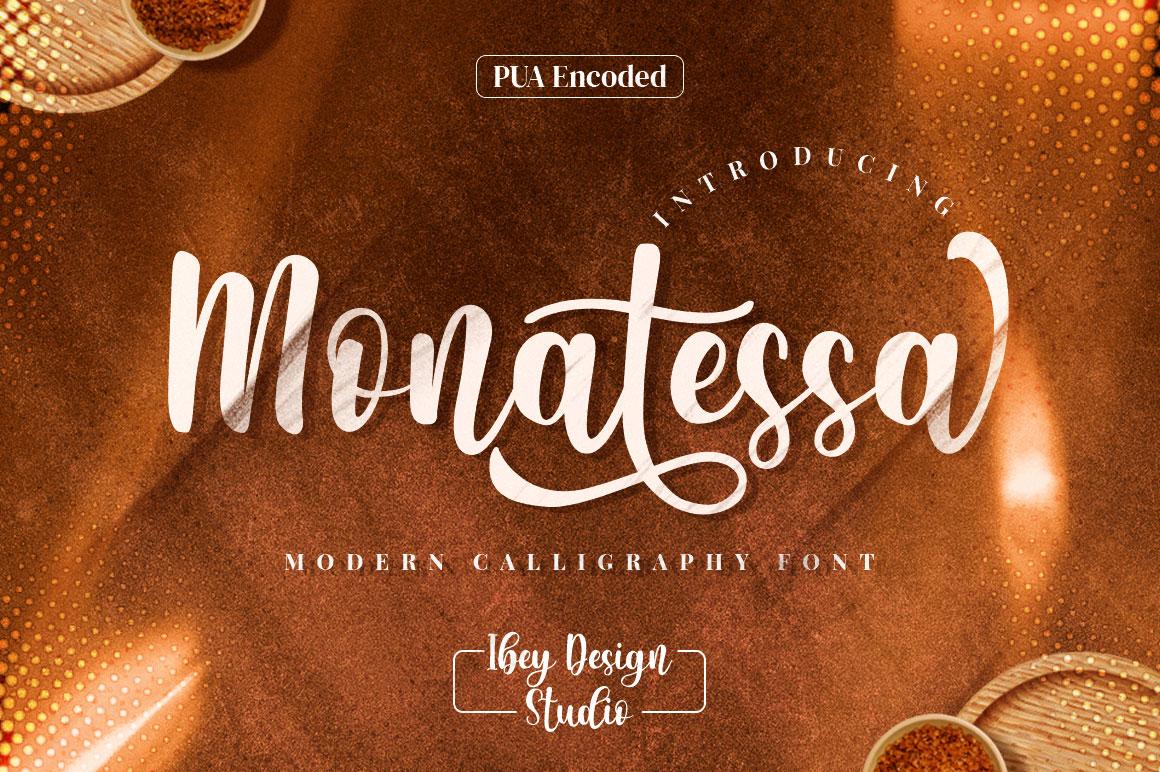 Monatessa-Font