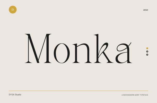 Monka-Font
