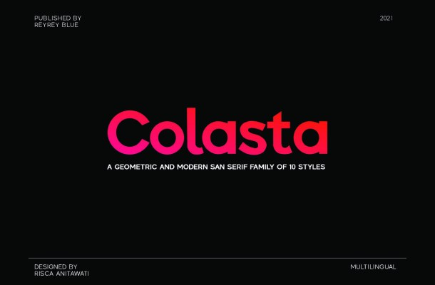 Colasta Font Family