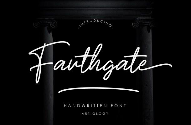 Fouthgate-Font