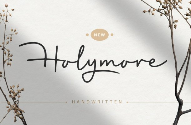 Holymore-Font