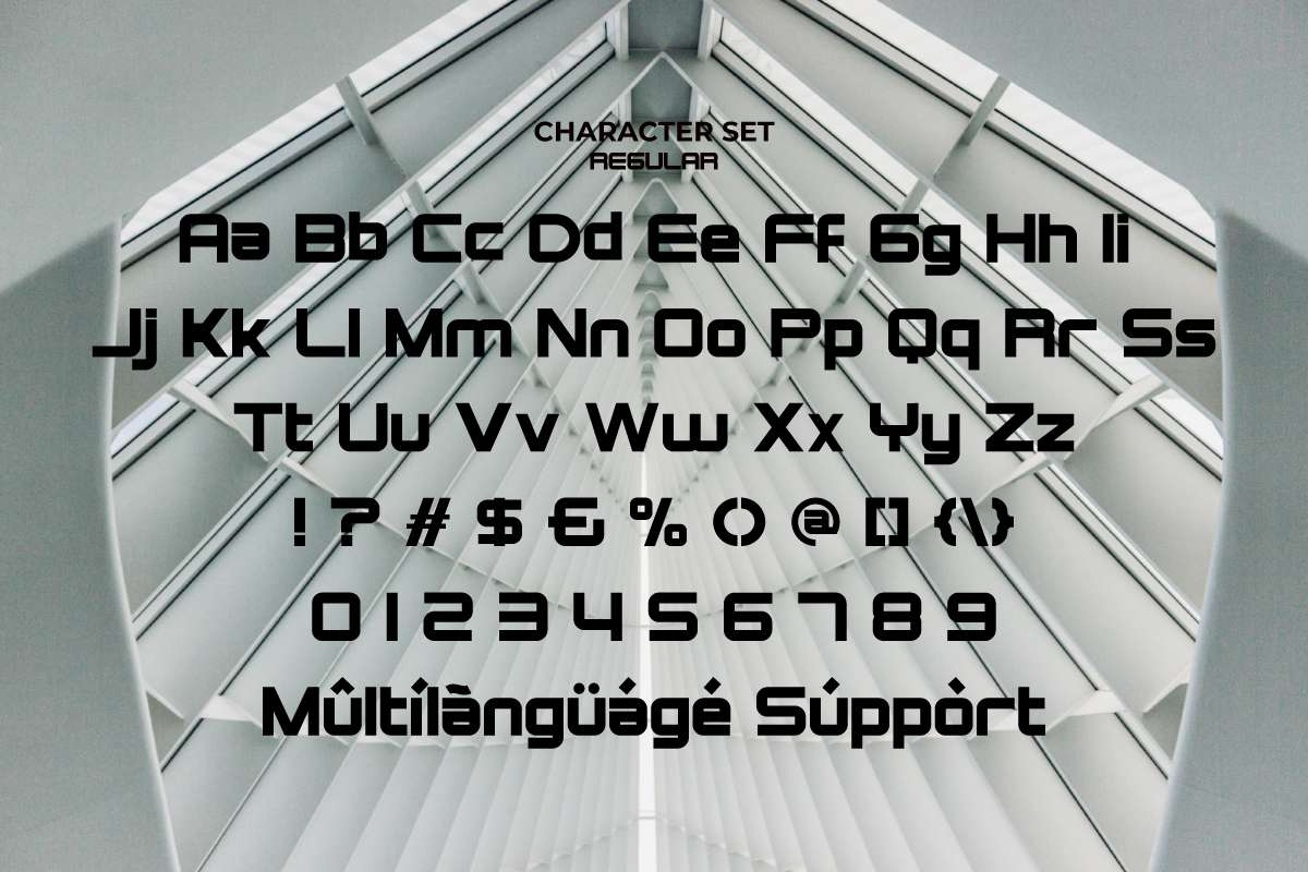 Technophile Font-3