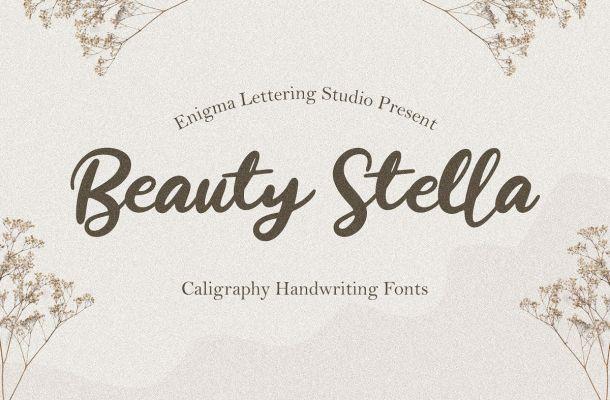 Beauty-Stella-Font