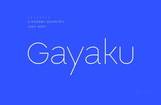 Gayaku-Font