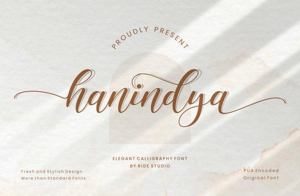 Hanindya-Font