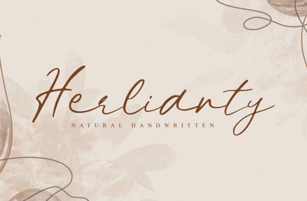 Herlianty-Font