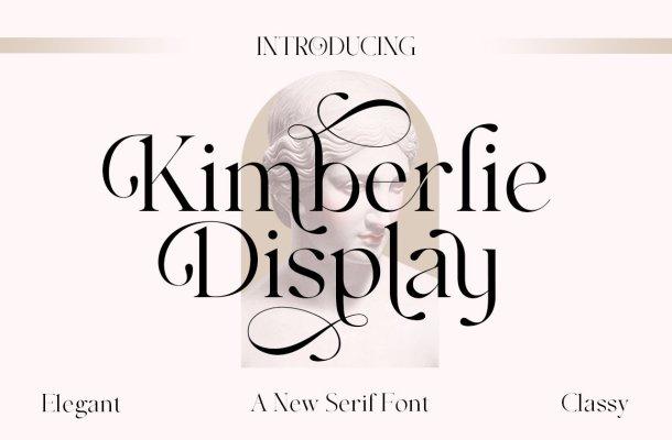 Kimberlie Display Serif Font