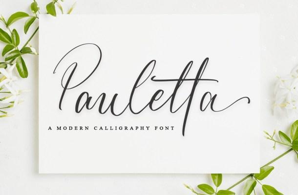 Pauletta-Font