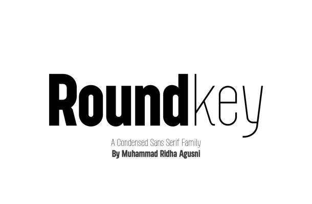 Roundkey Font Family