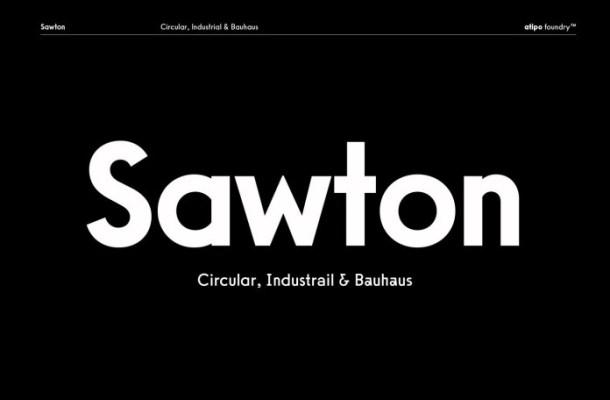 Sawton Font