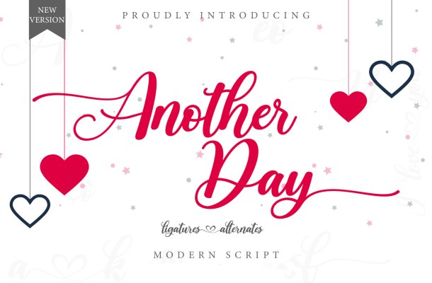 Another Day Font