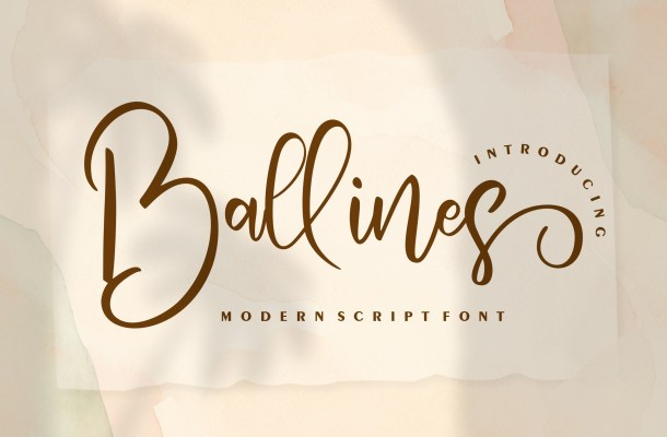 Ballines Font