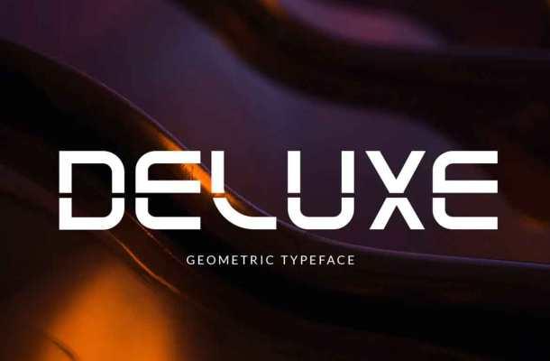 Deluxe Font