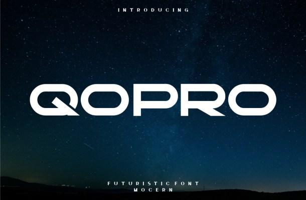 Qopro Font