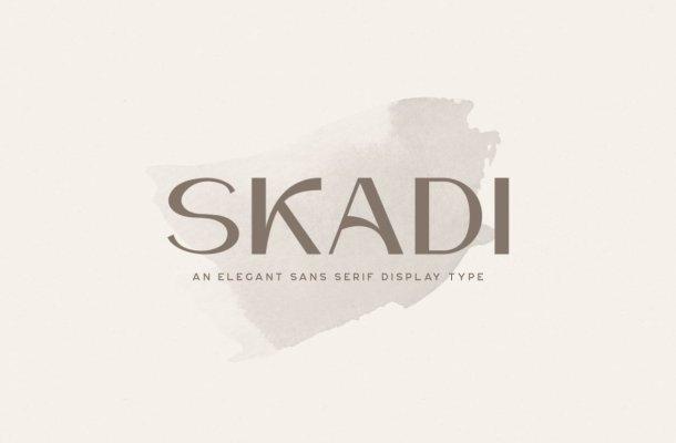 Skadi Typeface