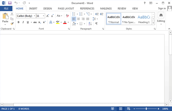 ms office word trial