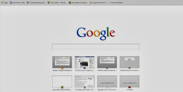 Google Chrome Updated To Show Google Com As Homepage - Download Informer