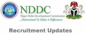 NDDC Recruitment Portal 2021