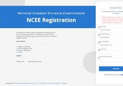 NCEE Registration Form 2021/2022 is out | www.ncee.neco.gov.ng