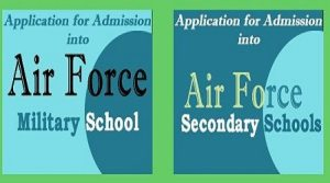 Airforce Secondary School Past Questions