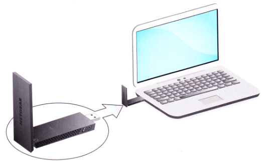 Connecting your NETGEAR wireless adapter using NETGEAR genie     Image