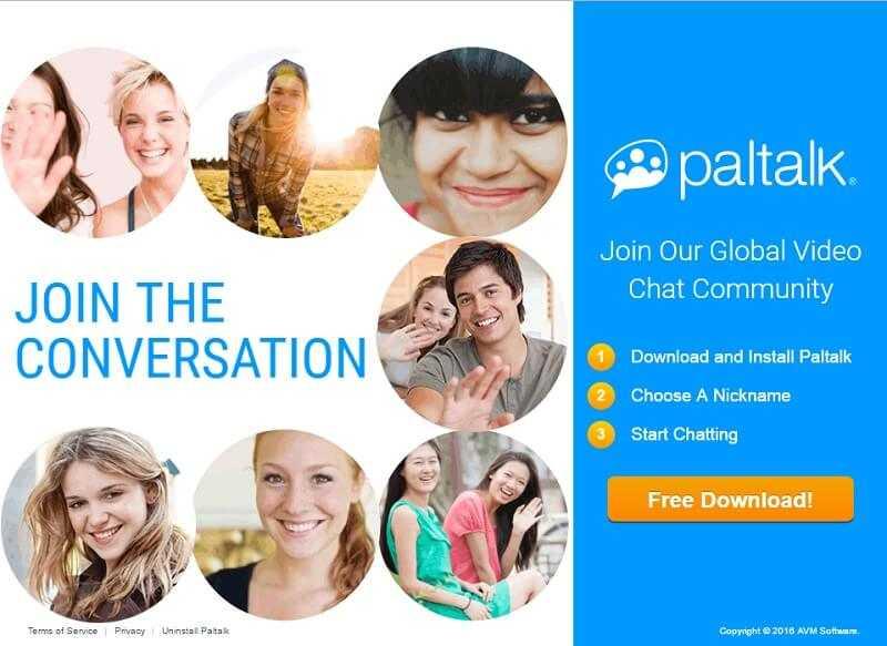 Télécharger Paltalk Messenger 2019 Chat Vocal et Vidéo