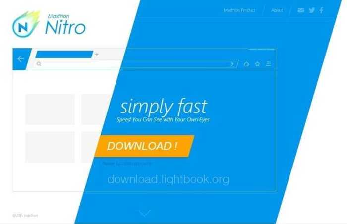 Download Faster Browser Maxthon Nitro 2019 for Free