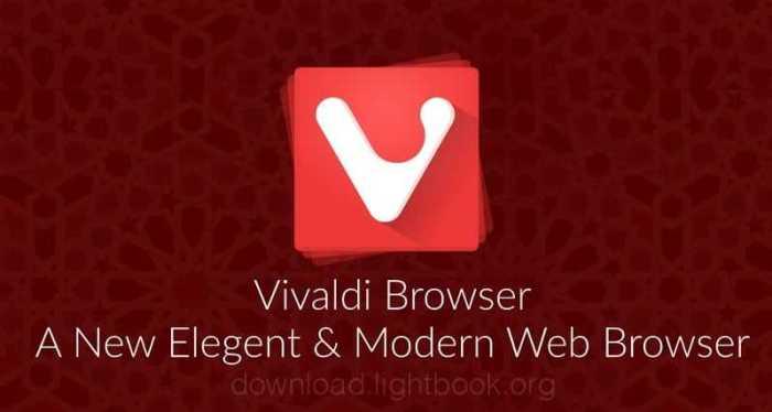 تحميل متصفح فيفالدي Vivaldi Browser 2019 للكمبيوتر والموبايل