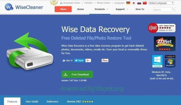 Download Wise Data Recovery 2019 for Windows 32/64 bit