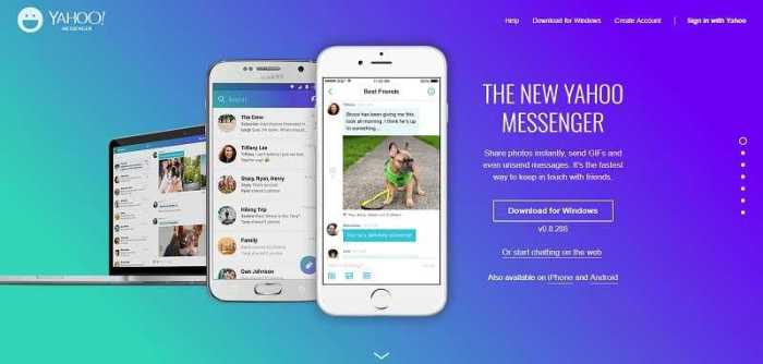Download Yahoo Messenger 2019 Free for PC and Smartphone
