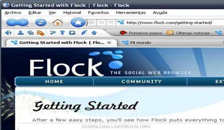 Télécharger Flock Browser 2019 Pour Ordinateur et Mobile